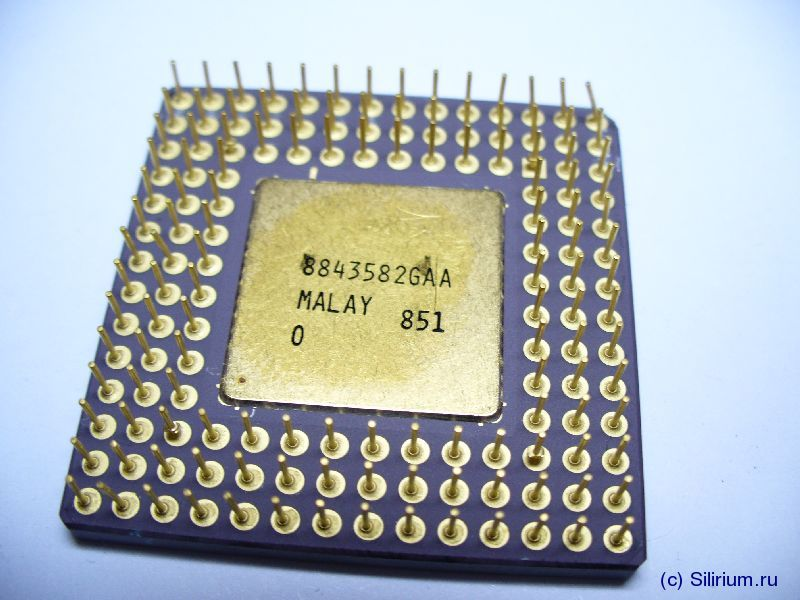 Silirium.ru :: Intel 80386 CPU Family